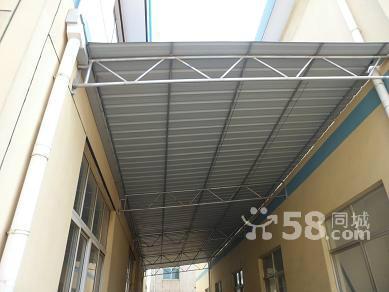 彩钢雨棚结构图