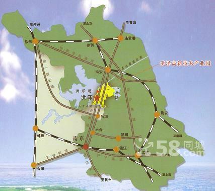 江苏淮安标准厂房出租 江苏淮安工业土地招商-图(2)