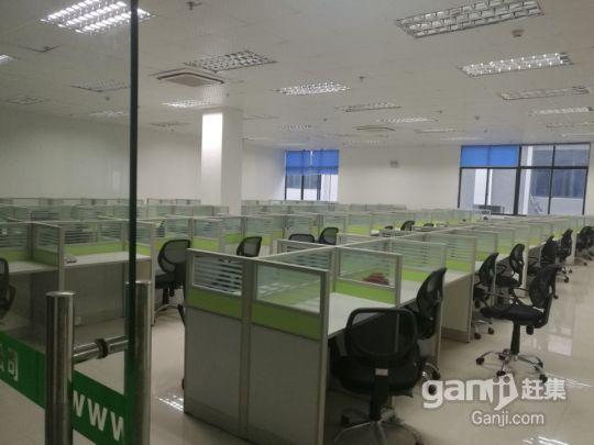 精美装修卡位式办公场地带电脑、空调、办公设施设备出租-图(3)