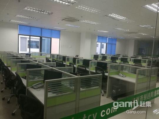 精美装修卡位式办公场地带电脑、空调、办公设施设备出租-图(4)