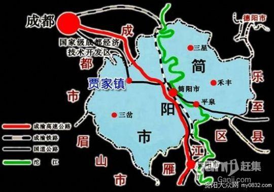 (出售)简阳贾家工业园30亩新厂房出售 个人出售 非中介-图(1)