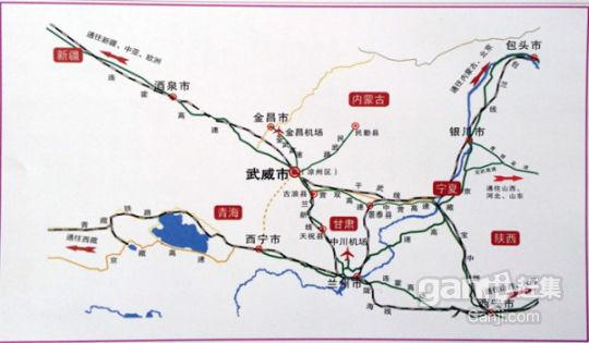 甘肃武威市南入市口投资权土地项目-图(2)