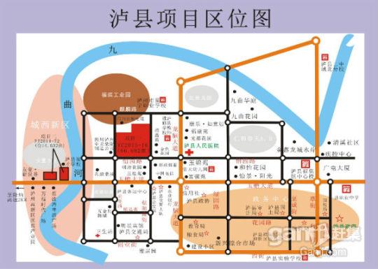 7月9日拍卖四川泸州泸县老城区15亩商业用地出售-图(1)