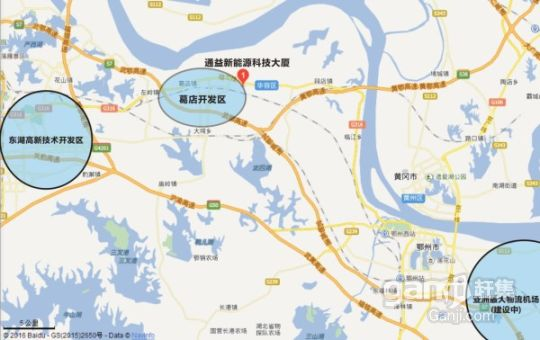 光谷东优质地段50亩土地/厂房/办公1万寻求合作(出租出售)-图(2)
