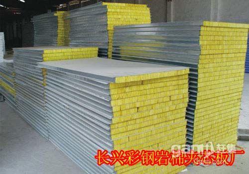 岩棉板,夹芯板活动板房制作-图(4)