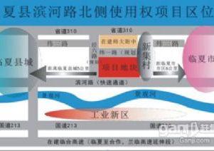 临夏县西北师大附中附属中学滨河路北侧国有建设用地出让