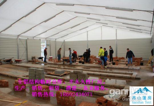 定做各种规格膜结构仓库厂房,无需政府审批,快速搭建-图(4)
