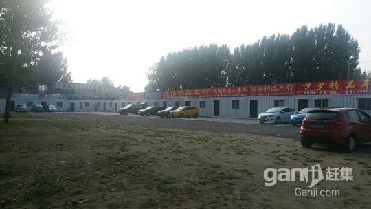 交警大队南众普二手车市场院内土地出租-图(2)