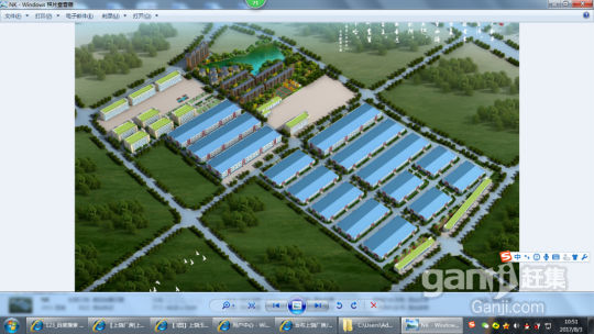 上饶玉山经开区国道边单层高9.6米4万方标准厂房,可分租-图(4)