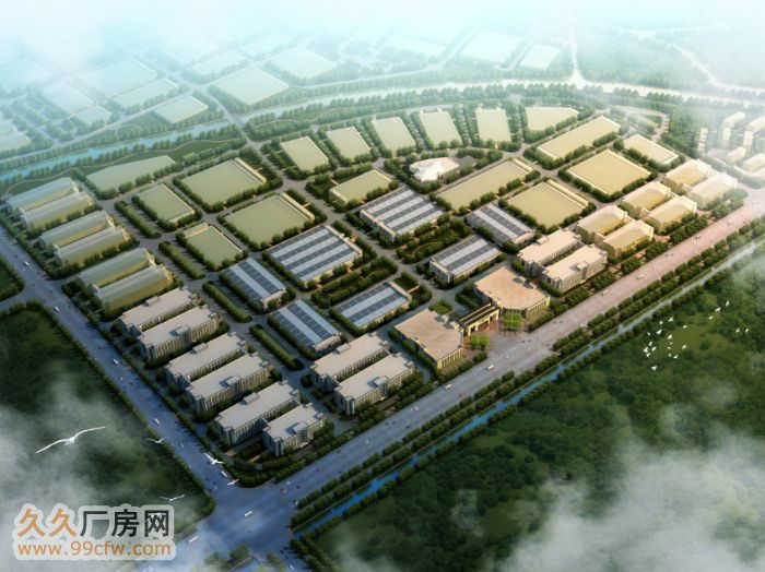 国际工业城新建标准化多层厂房(第三层出租)-图(2)