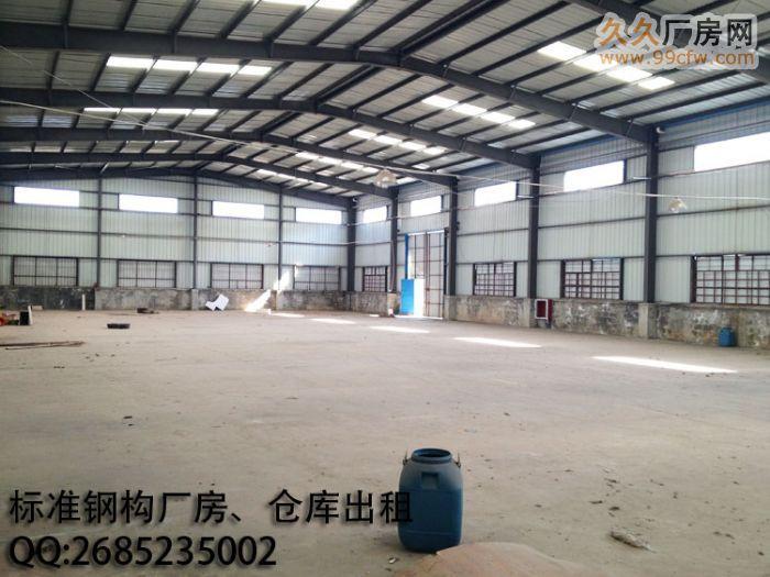 24小时监控标准钢构厂房仓库出租,可分割可组合-图(1)