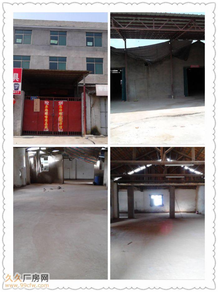 解放东路旁一层共计2000平面厂房独门独院马路边-图(1)