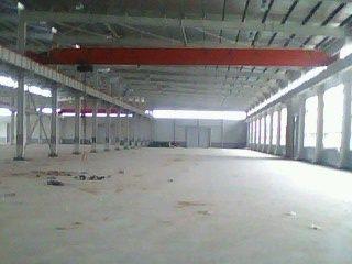 武湖工业园3千钢构车间配2部5T行吊紧邻阳逻港和武钢-图(1)
