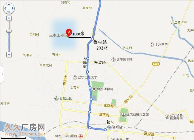 锦州市区地图全图