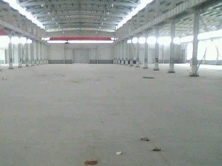 汉阳三环线黄金口1200M2钢构厂房2部5T行吊-图(1)