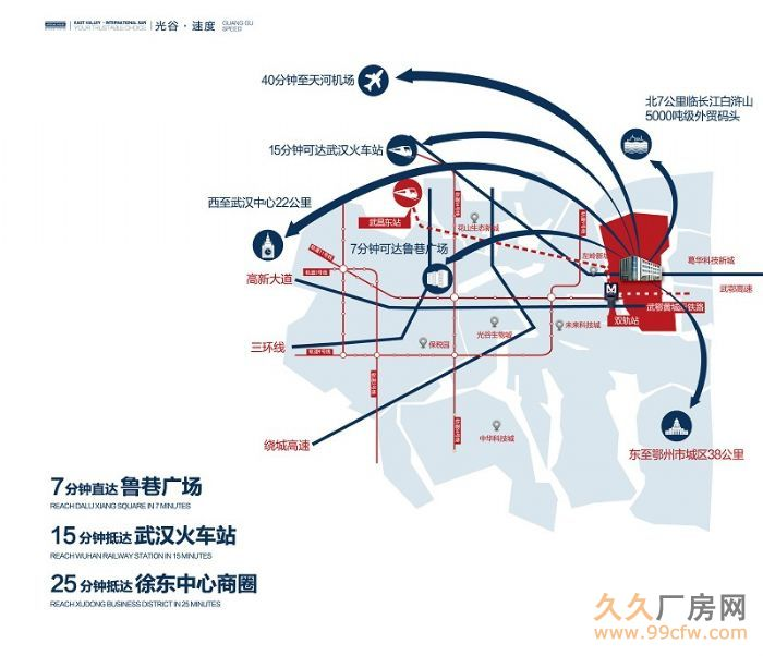 武汉市6个远城区(蔡甸