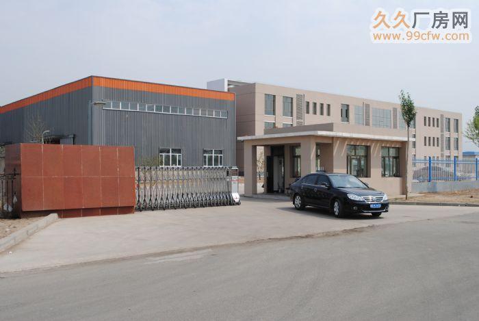 东河铝业园区新建钢结构标准厂房对外出租-图(1)