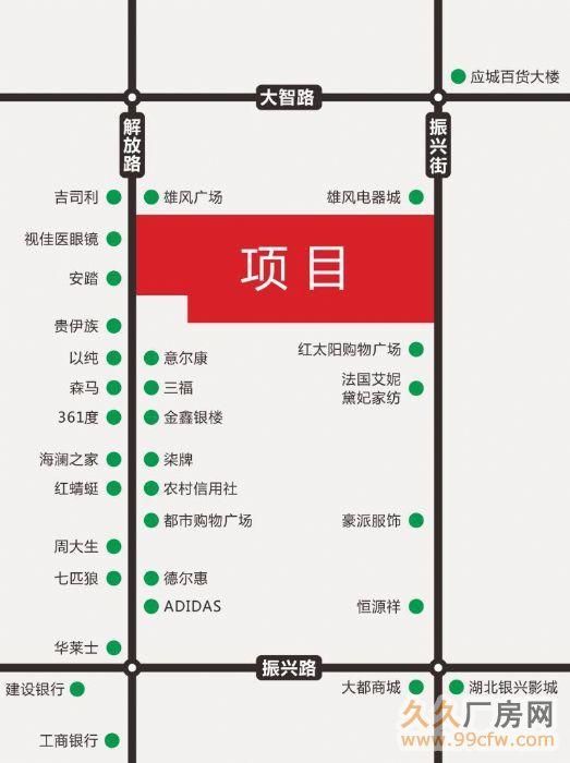 湖北孝义应城市解放街资产标的介绍项目介绍-图(1)