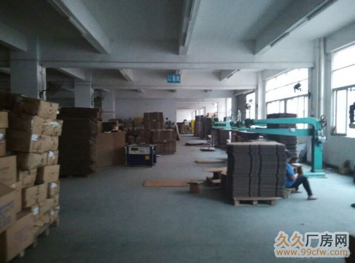光明新区龙大高速长丰工业园1至2楼各2600平出租-图(2)
