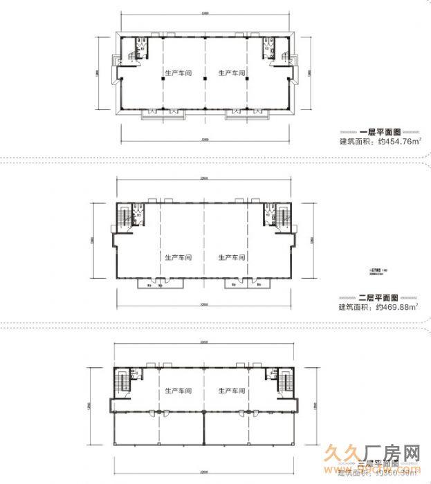 600—2000平米三层框架结构厂房低价出租-图(6)