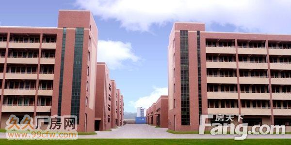 广西梧州万秀区高标准工业厂房(配套宿舍)可租可售-图(1)