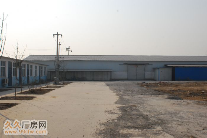 安阳北外环10亩临街独院带1500平厂房出租-图(1)