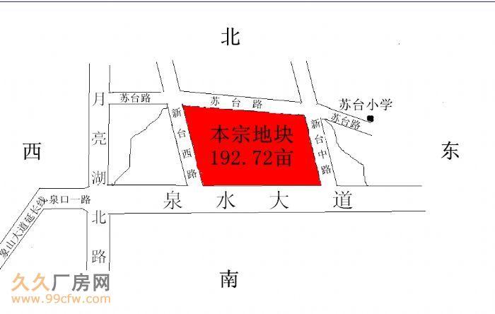 湖北省荆门市东宝区国有建设用地土地净地出让拍卖(192亩-图(2)