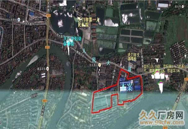 老城区原天门市纺织机械有限公司用地125亩土地出让-图(2)