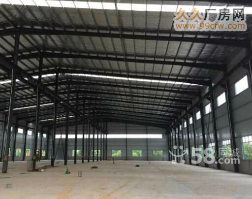 全新厂房按国家标准建造,钢架结构,水电齐全,电有300千瓦左右,厂房高