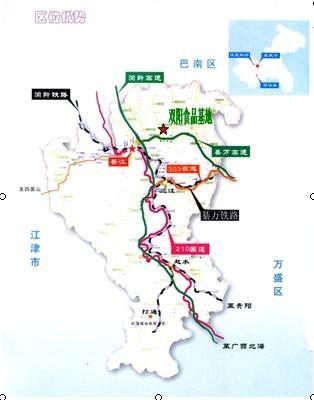 綦江县地图全图高清版