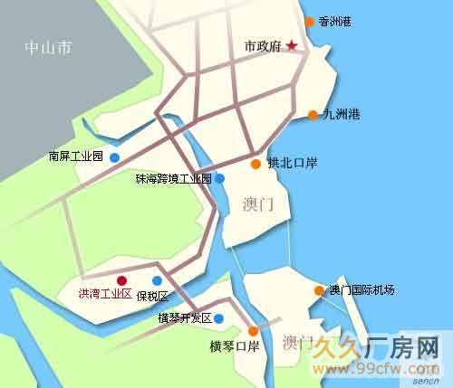 珠海横琴大桥附近门道12套商务办公楼出售-图(3)
