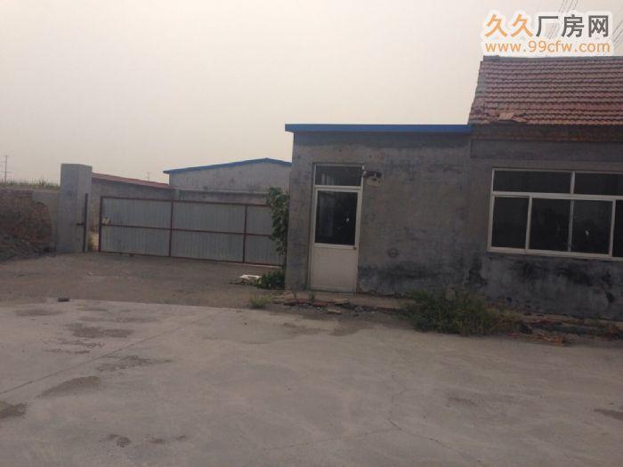 桓台县果里镇独院大型厂房出租-图(1)