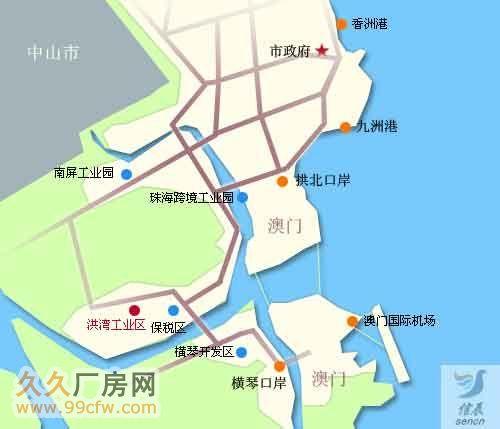 珠海市洪湾商贸区门道12套商务办公楼出售-图(2)