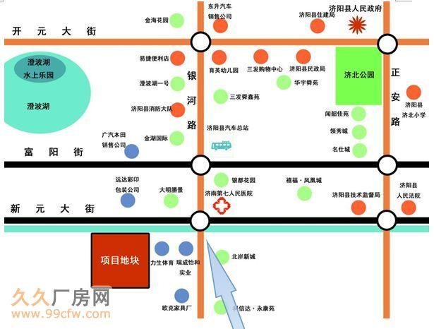 山东济南济阳县223亩土地开发标的介绍-图(1)