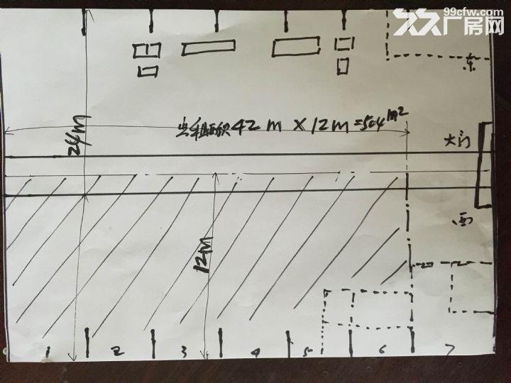 激光公司生产厂内空余504m2场地对外出租-图(1)