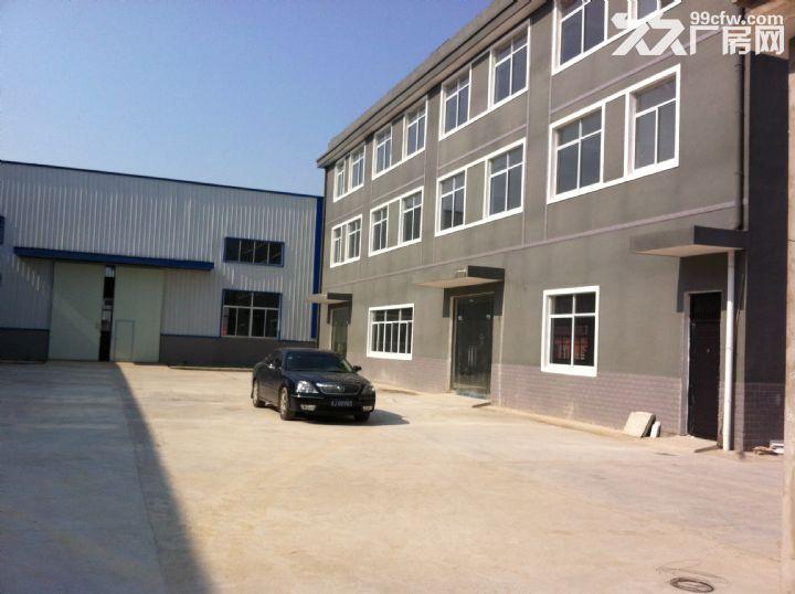 淮上区工业园标准钢结构厂房出租-图(1)