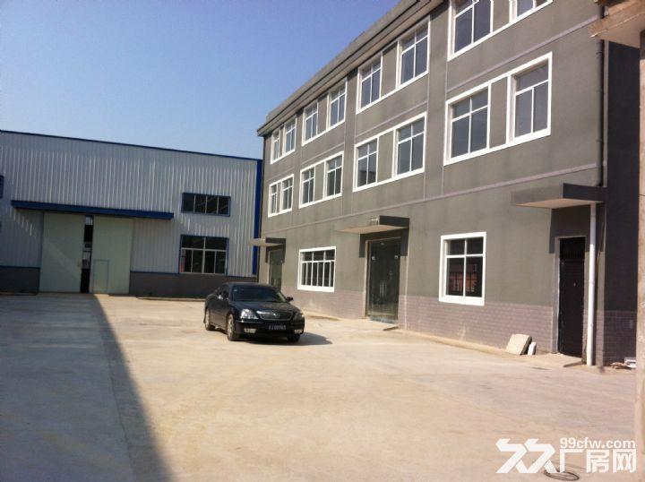 淮上区工业园标准框架结构厂房出租-图(4)