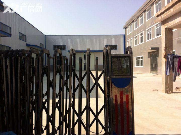 淮上区工业园标准框架结构厂房出租-图(5)