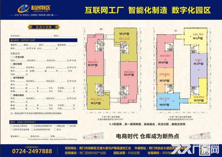 标准厂房可租可售荆门科创特区-图(1)