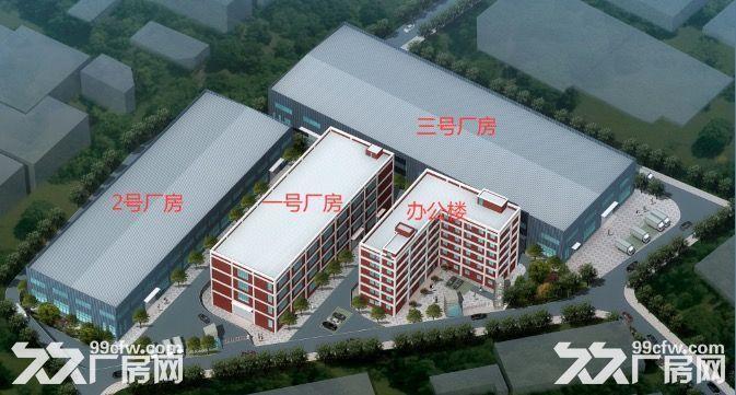 龙里千家卡空港经济产业园B区H3~H5出租1号标准新厂房-图(1)
