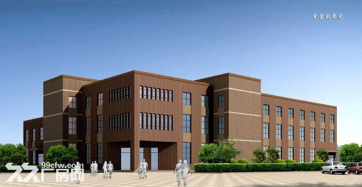 2, 一栋三层钢砼框架结构厂房,面积为28075.44平方米(其中底层层高8.