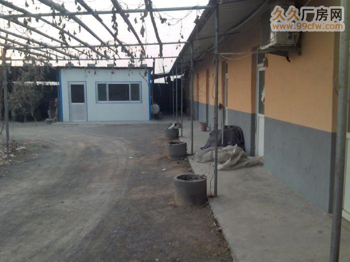 肥桃路大院整体出租,房屋、仓库、车棚、门卫、厨房一应俱全-图(1)
