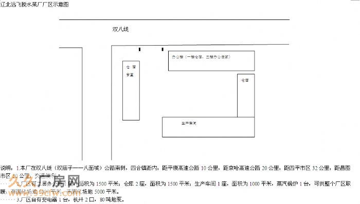 辽北昌图远飞脱水菜厂出租、出售-图(2)
