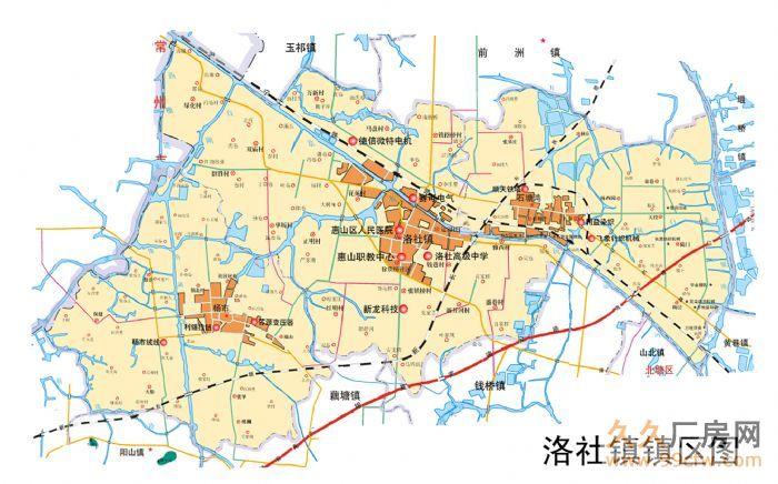 惠山经济开发区洛社镇18亩—150亩土地出售-图(3)