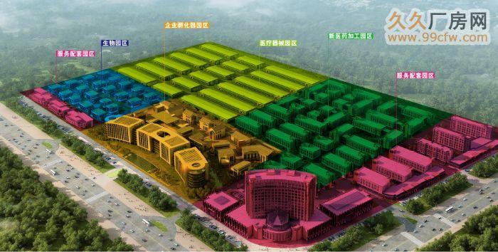 菏泽高新产业区厂房、仓储、办公楼、等您来参观-图(1)