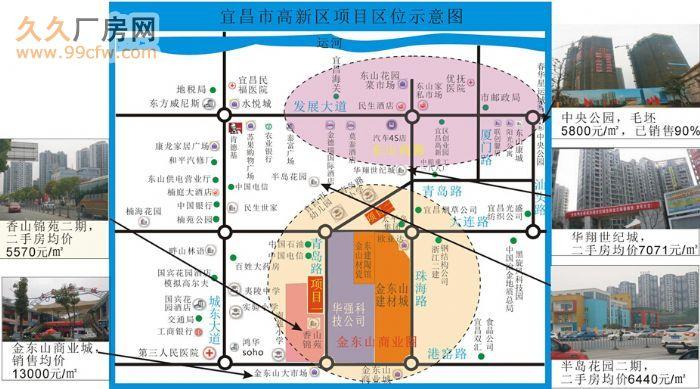 宜昌市市中心学区旁商住用地出让-图(2)