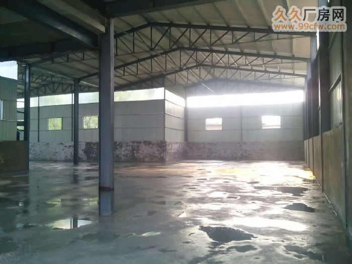 【5图】新建1000平方钢结构厂房优惠出租-天桥厂房