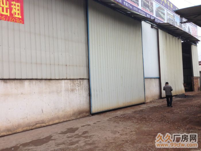 韶赣高速路口1200平方简易厂房出租(配有两台龙门吊车免费使-图(1)