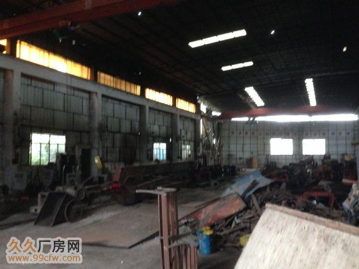 韶赣高速路口1200平方简易厂房出租(配有两台龙门吊车免费使-图(2)