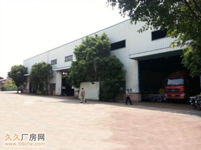 花都新华广清高速附近3000平方独院钢构厂房出租-图(2)